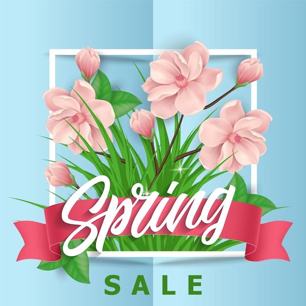 Rosa Blumen Fruhjahr Verkauf Hintergrund Download Der Kostenlosen