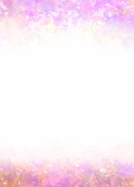 Rosa farbverlauf-aquarellhintergrund Kostenlosen Vektoren