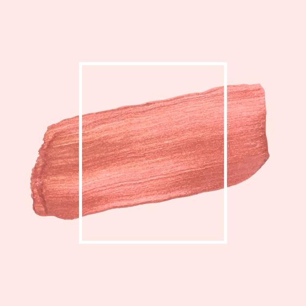 Rosa pinselstrich Kostenlosen Vektoren