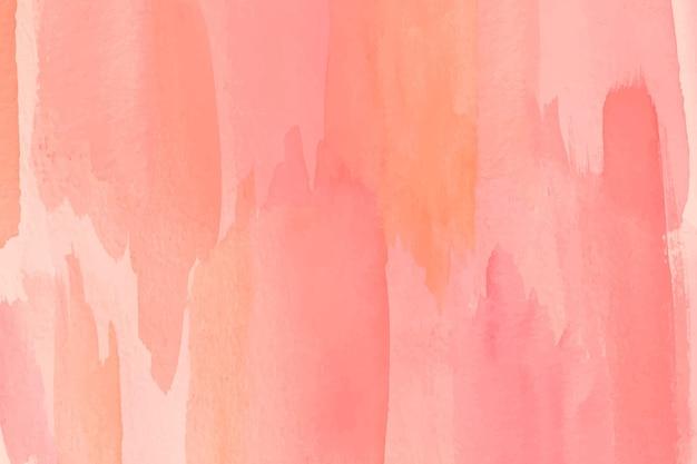 Rosa töne gemalten hintergrund Kostenlosen Vektoren