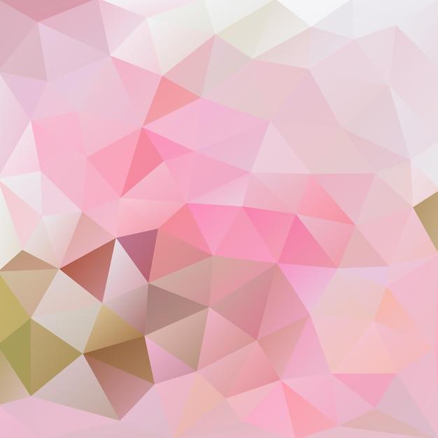 Rosafarbener und grauer polygonaler hintergrund des flamingos Premium Vektoren