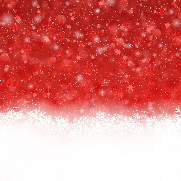 rot und bokeh hintergrund weihnachten mit schnee. Black Bedroom Furniture Sets. Home Design Ideas