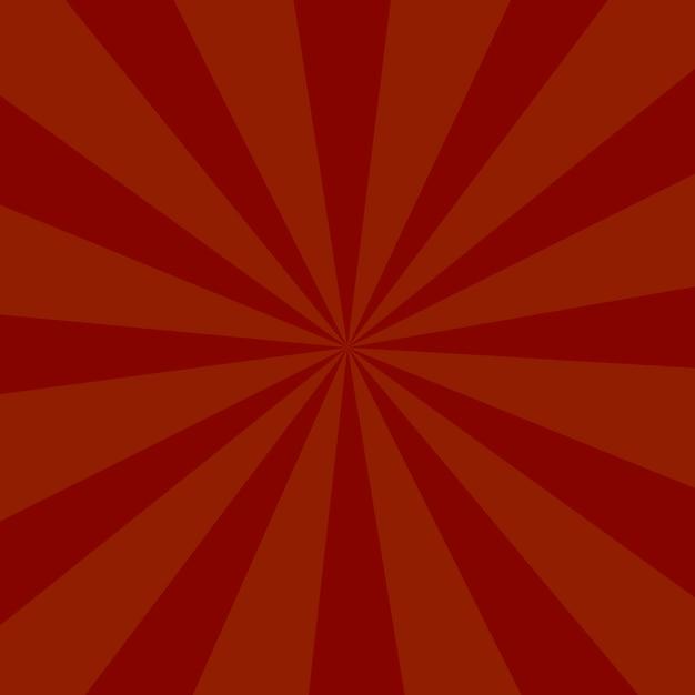 Rote farbexplosionshintergrund oder sonnenstrahlhintergrund Premium Vektoren