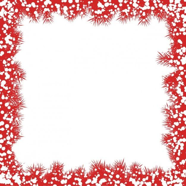 Rote Weihnachtsgirlande Rahmen Download Der Kostenlosen