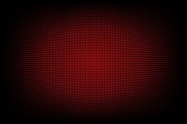 Roter abstrakter technologiehintergrund für computergrafikwebsiteinternet und -geschäft. dunkelblauer hintergrund Premium Vektoren