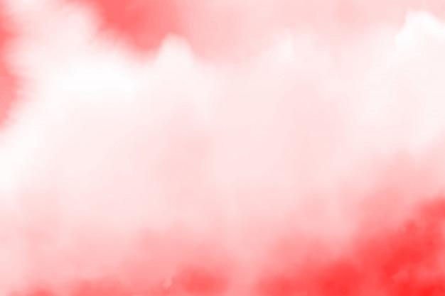 Roter aquarellspritzenhintergrund Premium Vektoren