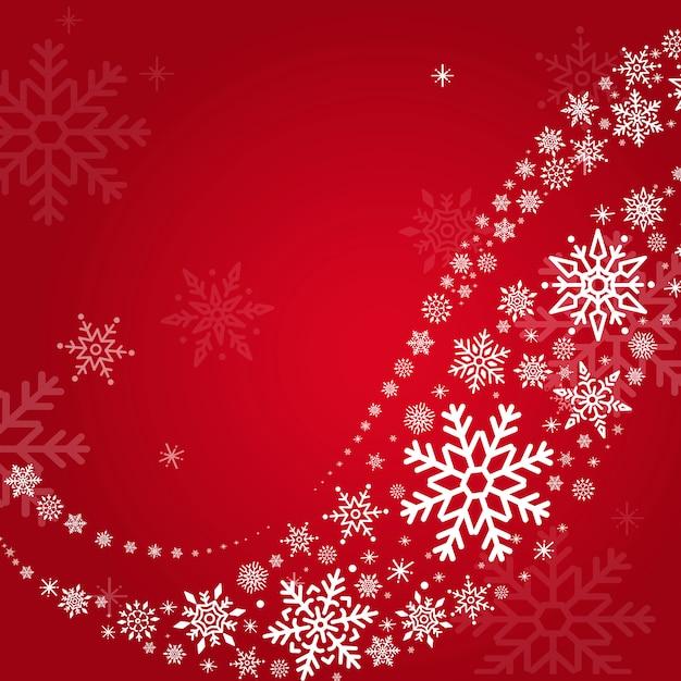 Roter feiertagsdesignhintergrund Kostenlosen Vektoren