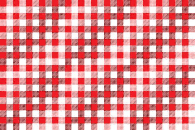 Rotes nahtloses muster des tischdeckenhintergrundes Premium Vektoren