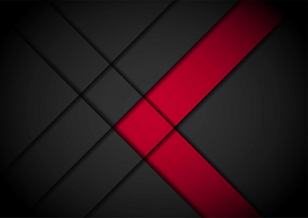 Rotlichtpfeilschwarzes mit gewelltem maschenhintergrund Premium Vektoren