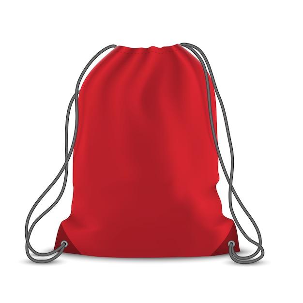 Rucksack tasche isoliert Premium Vektoren