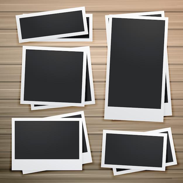 Sammlung von Bilderrahmen-Design Kostenlose Vektoren