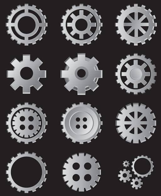 Sammlung von gang illustration Premium Vektoren