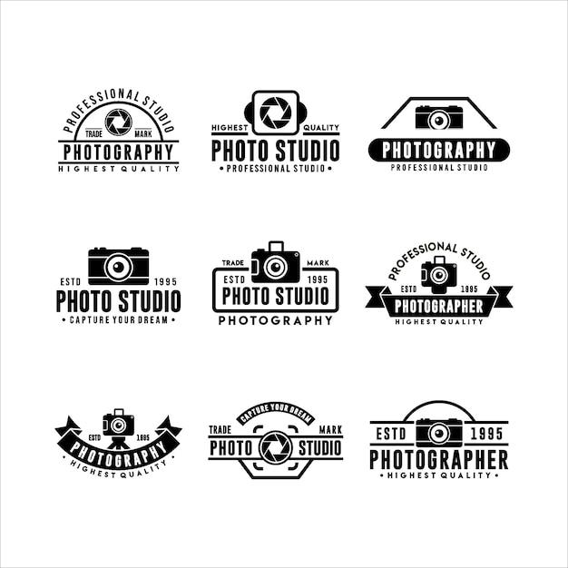 Sammlung von logo-vorlagen Premium Vektoren