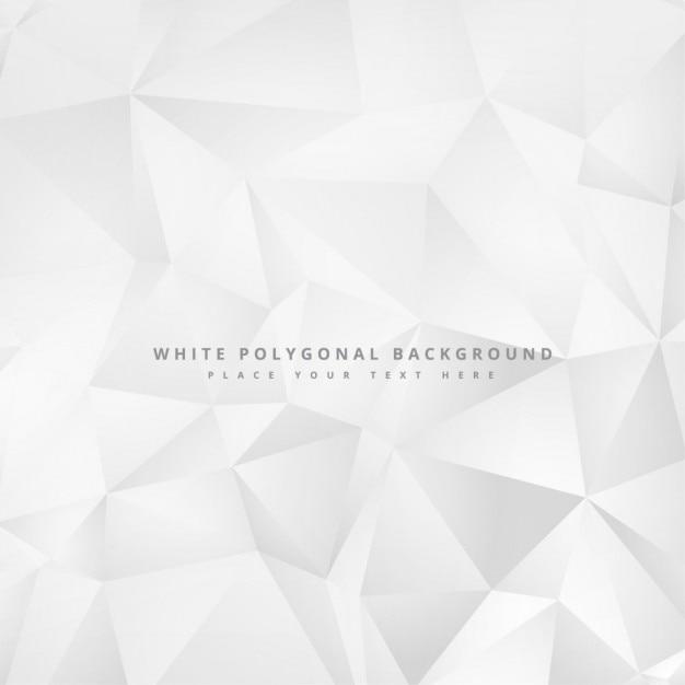 Sauber minimalen weißen geometrischen hintergrund-design Kostenlosen Vektoren