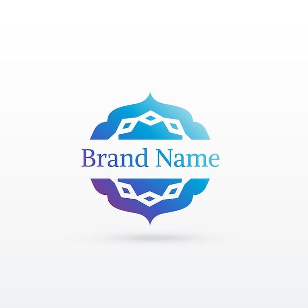 Saubere arabische Stil-Logo-Design-Vorlage   Download der ...