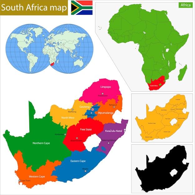 Saures afrika Premium Vektoren
