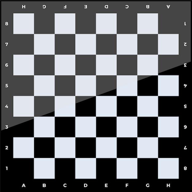 Schachbrettillustration Premium Vektoren