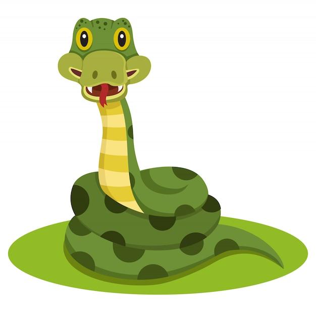 Schlangentier Premium Vektoren