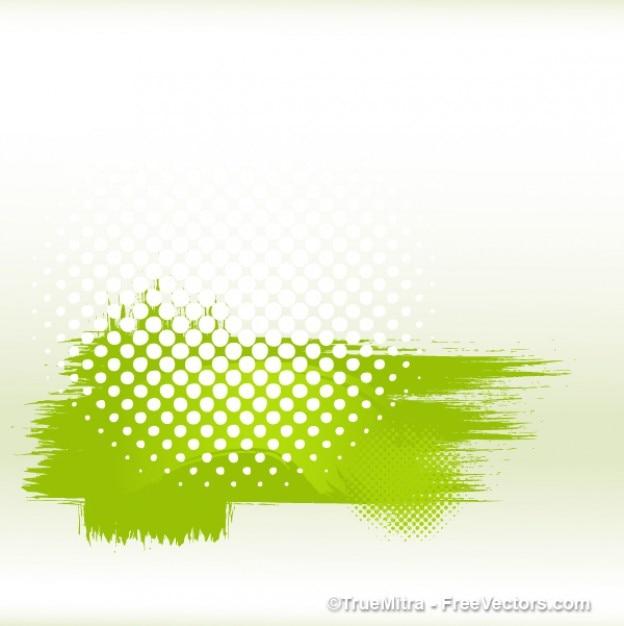 Schmutzig grün halbton banner Kostenlosen Vektoren