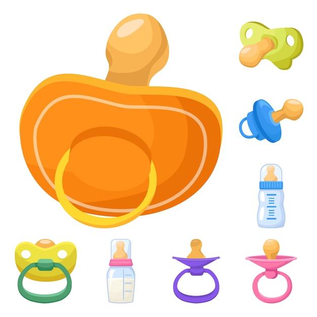 Schnuller-Baby-Vektor-Illustration - Download Kostenlos Vector, Clipart  Graphics, Vektorgrafiken und Design Vorlagen