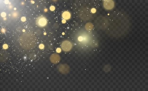 Schöne funken leuchten mit besonderem licht Premium Vektoren