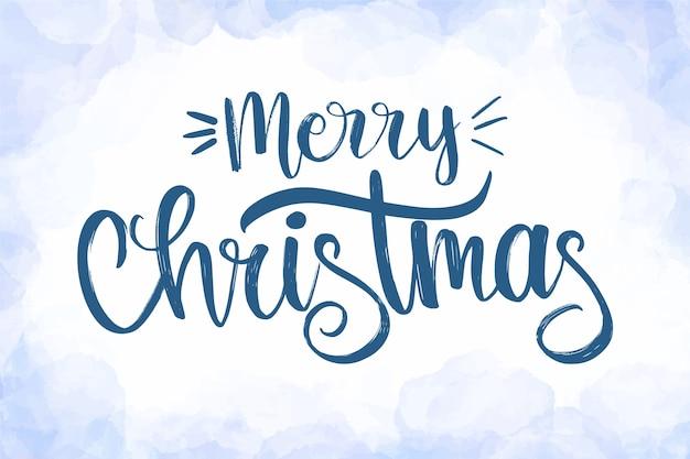 Schöne weihnachtsbeschriftung Kostenlosen Vektoren