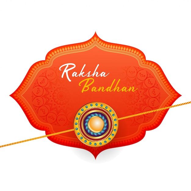 Schöner glücklicher raksha bandhan hintergrund Kostenlosen Vektoren