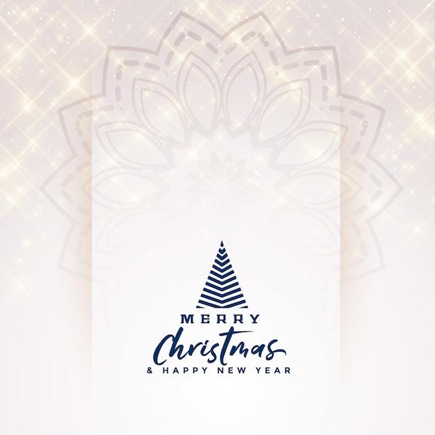 Schönes elegantes scheinfahnendesign der frohen weihnachten Kostenlosen Vektoren