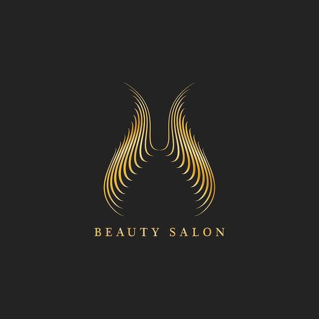 Schönheitssalon-design-logo-vektor Kostenlosen Vektoren