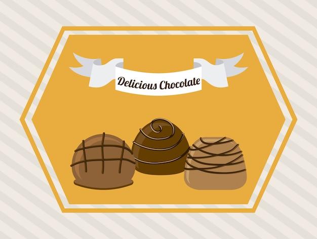 Schokolade Kostenlosen Vektoren