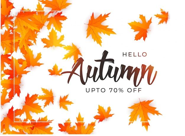 Schöne Herbstblätter Hintergrund Vorlage Download Der Kostenlosen