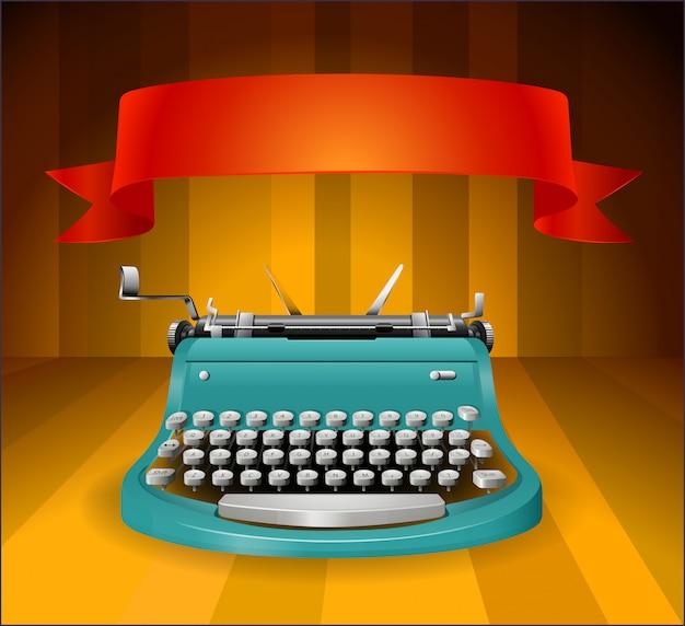 Schreibmaschine Kostenlosen Vektoren