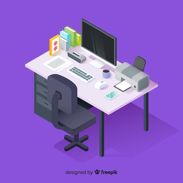 Schreibtisch Kostenlosen Vektoren