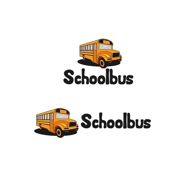 Schulbus Premium Vektoren