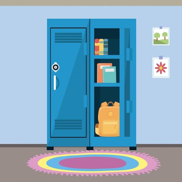 Schulspind und zubehör Kostenlosen Vektoren