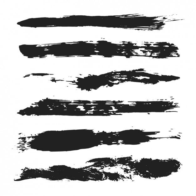 Illustrator Painted Brush Strokes Free