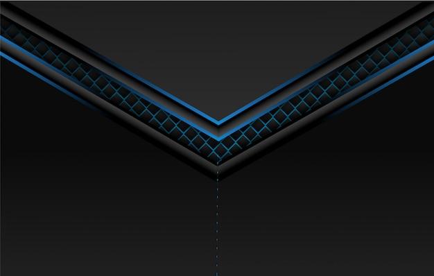 Schwarzer blauer hintergrund. Premium Vektoren