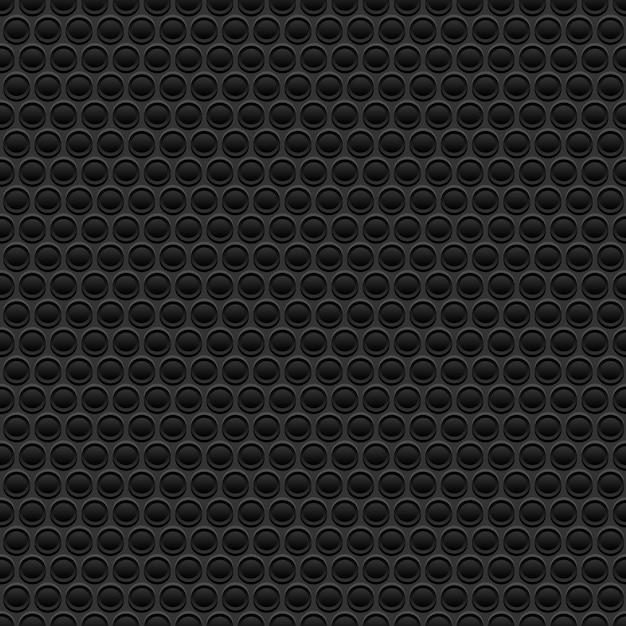 Schwarzer gummi textur Premium Vektoren