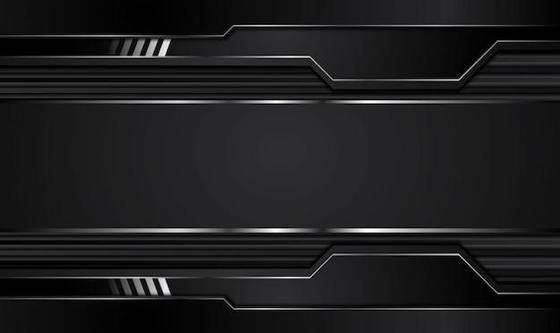 Schwarzer hintergrund. Premium Vektoren