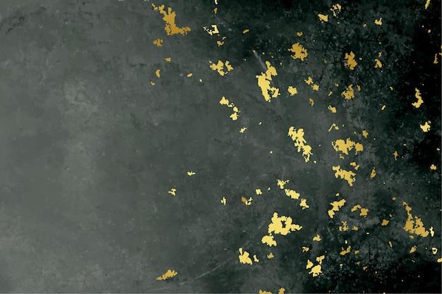 Schwarzer und goldener folienbeschaffenheitshintergrund Kostenlosen Vektoren