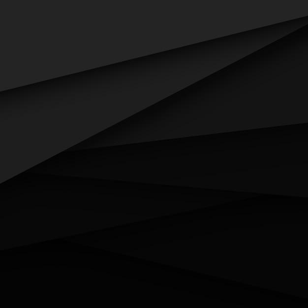 Schwarzer vektor-abstrakter hintergrund Kostenlosen Vektoren
