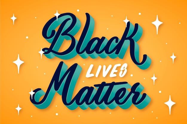 Schwarzes lebendmaterie-beschriftungszitat Kostenlosen Vektoren