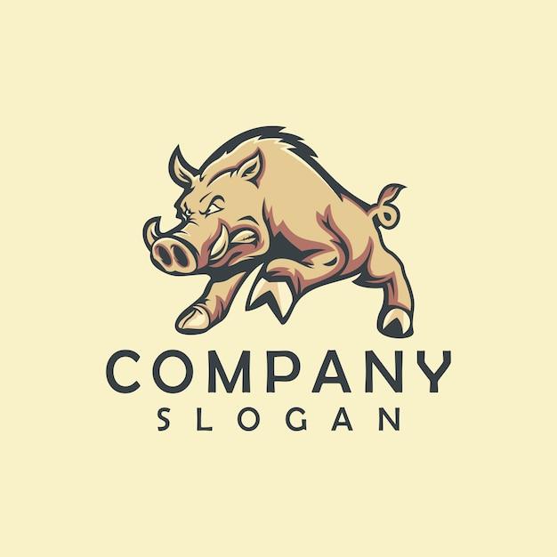 Schwein esport logo Premium Vektoren