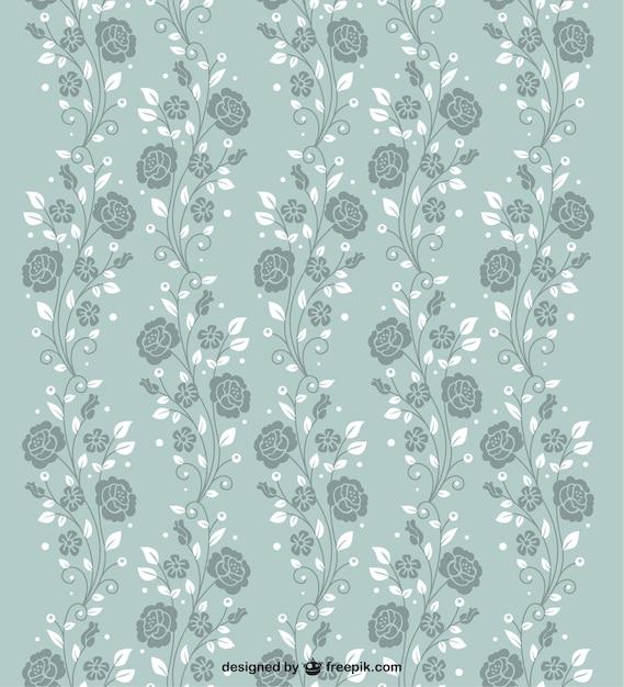 Seamless roses pattern Kostenlosen Vektoren