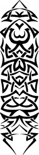 seite tribal muster rahmen vektor download der kostenlosen vektor. Black Bedroom Furniture Sets. Home Design Ideas