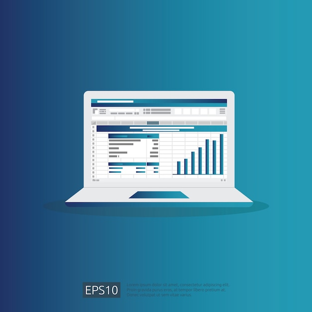 Seo-datenanalyse Premium Vektoren