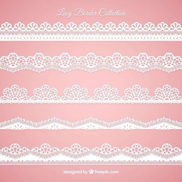 Set von spitzenkanten in flachem design download der for Meine wohnung click design download