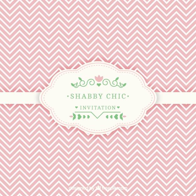 shabby chic einladungskarte download der kostenlosen vektor. Black Bedroom Furniture Sets. Home Design Ideas