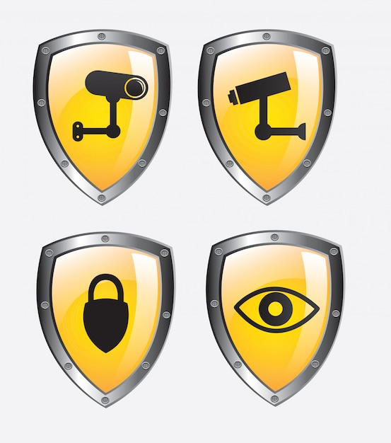 Sicherheit Premium Vektoren