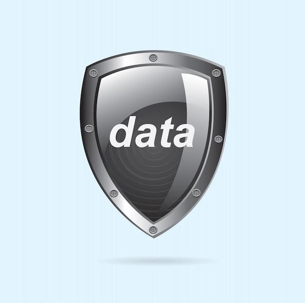 Sicherheitsdaten Premium Vektoren